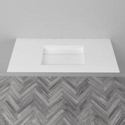 CORIAN®   Alabama DuPont™ Corian® Vanity Top   Wash basins   Riluxa
