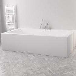 CORIAN®   B-Flat Built-in DuPont™ Corian® Bathtub - 3 panels   Bathtubs   Riluxa
