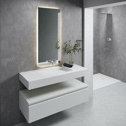 CORIAN®   Canada DuPont™ Corian® Wall Mounted Washbasin   Wash basins   Riluxa