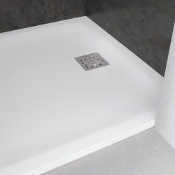 CORIAN® | Casual DuPont™ Corian® Ultra Slim Shower Tray - Made-to-measure | Shower trays | Riluxa