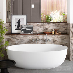 CORIAN®   Delight 8430 Freestanding Corian® Bathtub   Bathtubs   Riluxa