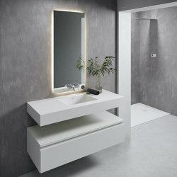 CORIAN®   Energy DuPont™ Corian® Wall Mounted Washbasin   Wash basins   Riluxa