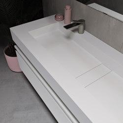 CORIAN®   Area DuPont™ Corian® Wall Mounted Washbasin   Wash basins   Riluxa