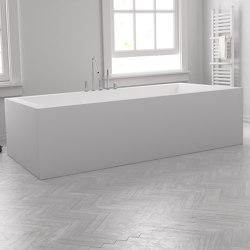 CORIAN® | Island Freestanding DuPont™ Corian® Bathtub | Bathtubs | Riluxa