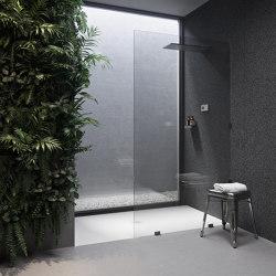 CORIAN®   Liege DuPont™ Corian® Ultra Slim Shower Tray - Made-to-measure   Shower trays   Riluxa