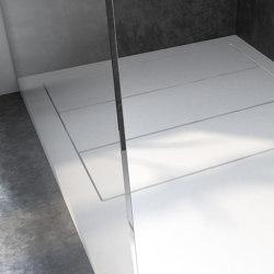 CORIAN® | Plato de ducha elevado Nantes en DuPont™ Corian® - a medida | Platos de ducha | Riluxa