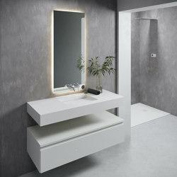 CORIAN®   Tennessee DuPont™ Corian® Wall Mounted Washbasin   Wash basins   Riluxa