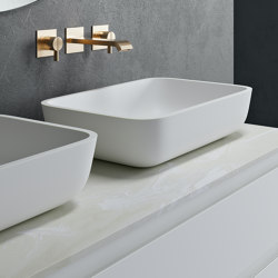 CORIAN® | Toronto Corian® Countertop Washbasin | Wash basins | Riluxa