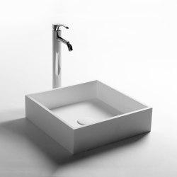 SOLID SURFACE | Azucena Solid Surface Counter Top Washbasin | Wash basins | Riluxa