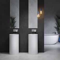 SOLID SURFACE | Blush Solid Surface Freestanding Washbasin | Wash basins | Riluxa