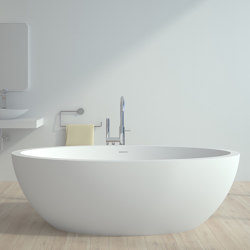 SOLID SURFACE | Hannover Freestanding Solid Surface Bathtub | Bathtubs | Riluxa