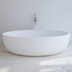 SOLID SURFACE | Lyon Freestanding Solid Surface Bathtub - 135cm | Bathtubs | Riluxa