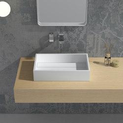 SOLID SURFACE | Maltese Solid Surface Counter Top Washbasin | Wash basins | Riluxa
