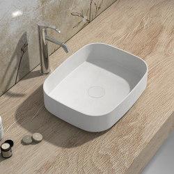 SOLID SURFACE | Marigold Solid Surface Countertop Washbasin | Wash basins | Riluxa