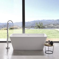 SOLID SURFACE | Marseille Freestanding Solid Surface Bathtub | Bathtubs | Riluxa