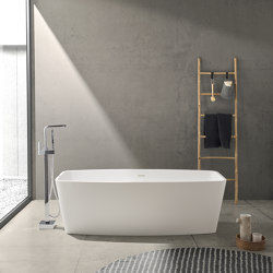 SOLID SURFACE | Monaco Freestanding Solid Surface Bathtub | Bathtubs | Riluxa