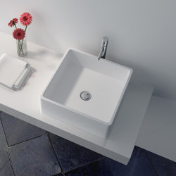 SOLID SURFACE | Nerine Solid Surface Counter Top Washbasin | Wash basins | Riluxa