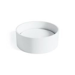 SOLID SURFACE | Ovata Solid Surface Countertop Washbasin | Wash basins | Riluxa