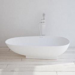 SOLID SURFACE | Paris Freestanding Solid Surface Bathtub | Bathtubs | Riluxa