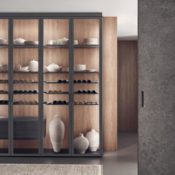 Cover | Display cabinets | Rimadesio
