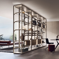 Cover Freestanding | Display cabinets | Rimadesio