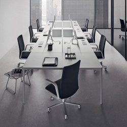 Flat System | Contract tables | Rimadesio
