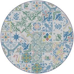 Azulejos | AZ3.01.1 | Ø 350 cm | Rugs | YO2