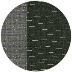 Mosaique | MQ3.02.1 | Ø 350 cm | Rugs | YO2