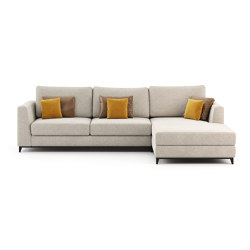 London Sofa with Chaise Longue | Divani | Laskasas