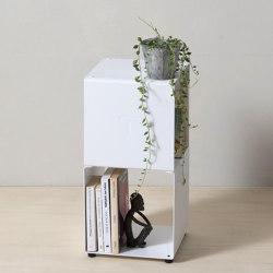 TEEtem 2 levels White Column storage | Shelving | Teebooks