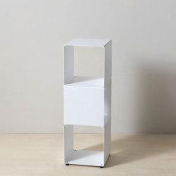 TEEtem 3 levels White Column storage | Shelving | Teebooks