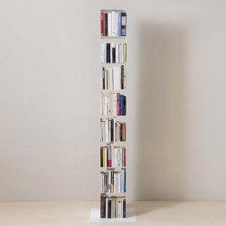 TEEtem 8 levels White Column storage | Shelving | Teebooks