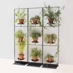 TEEpots Plant Stand Room Divider | Flower displays | Teebooks