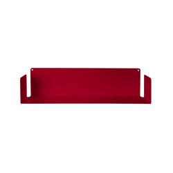 U Red Floating Wall Shelf | Shelving | Teebooks