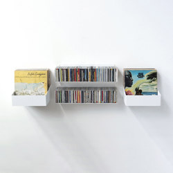 Estantería Para Cds Y Vinyl Miles | Estantería | Teebooks