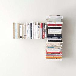 Estante Asimétrico Para Libros T Izquierda | Estantería | Teebooks