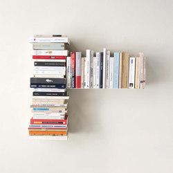 Estante Asimétrico Para Libros T Derecho | Estantería | Teebooks