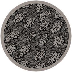 The Oak Leaves (Rugs)   OA3.01.1   Ø 350 cm   Rugs   YO2