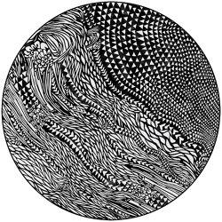 Wild Vibrations | WV3.01.3 | Ø 350 cm | Rugs | YO2