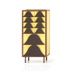 Antigua Cabinet mid yellow | Credenze | Wittmann