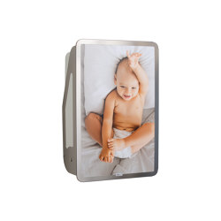 QUATTRO timkidbaby - stainless steel   Baby changing tables   timkid