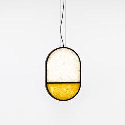 Geometric Oval Full Bottom PC1143 | Suspended lights | Brokis