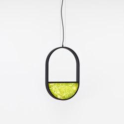 Geometric Oval 1/3 Bottom PC1145 | Suspended lights | Brokis