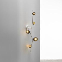 Ivy Wall 5 PC1220 | Wall lights | Brokis