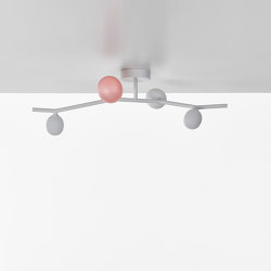 Ivy Ceiling 4 PC1225 | Ceiling lights | Brokis