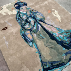 Japanese paintings | Callas/butterfly (VII) by Jasper Krabbé | Rugs | Frankly Amsterdam