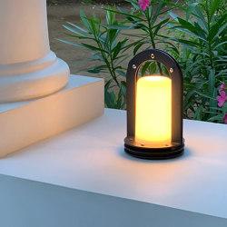 Autonomous table lamp | Plein cintre | Outdoor table lights | LYX Luminaires