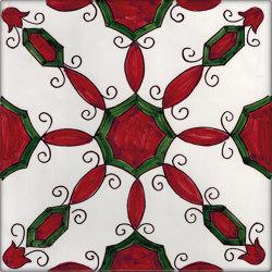 LR CO Agerola rosso e verde | Carrelage céramique | La Riggiola