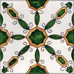 LR CO Agerola verde e arancione | Carrelage céramique | La Riggiola