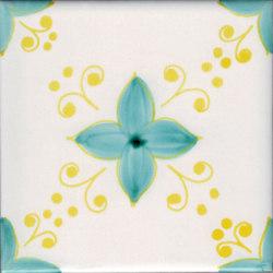 LR PO Angolo sbuffi con fiore | Carrelage céramique | La Riggiola